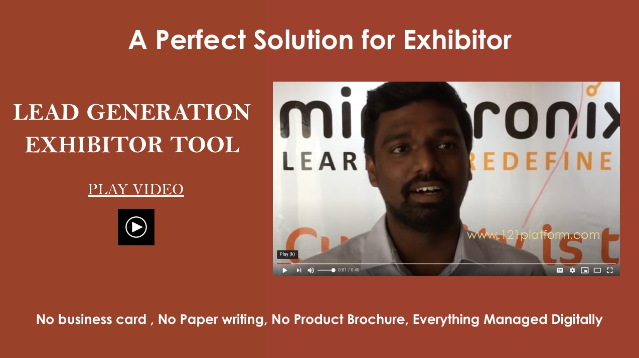 lead generation exhibitor tool
