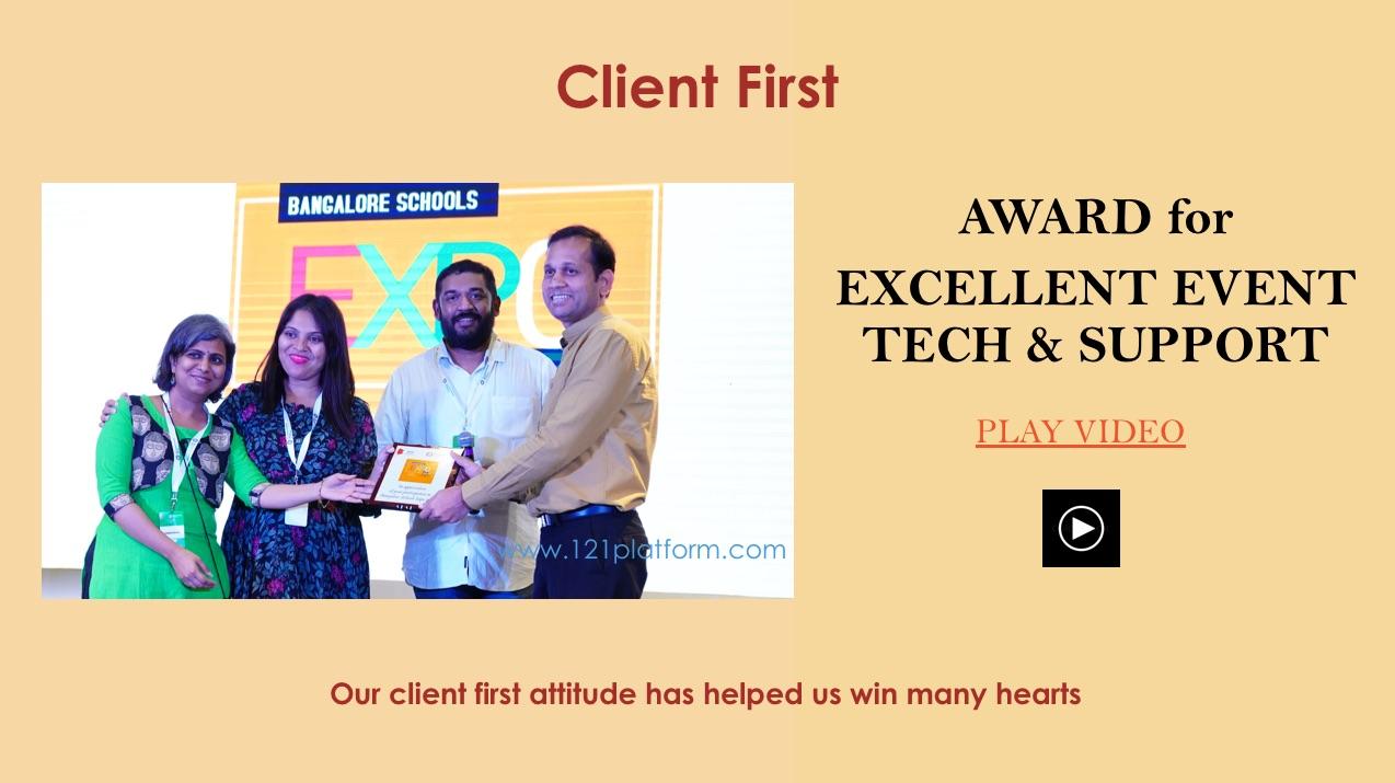 award winning event tech platform