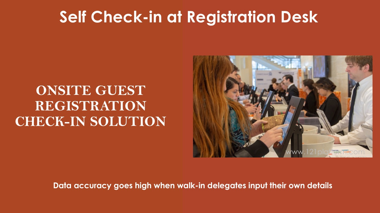 onsite guest registration