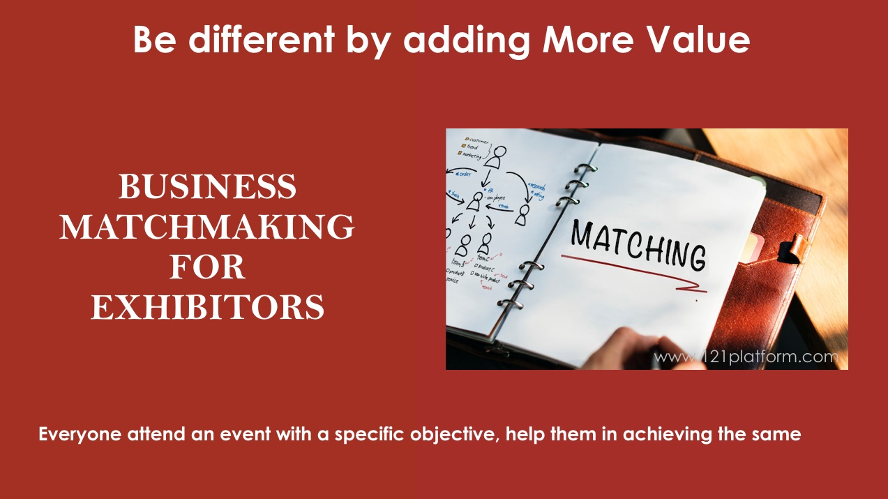 business matchmaking for exhibitors