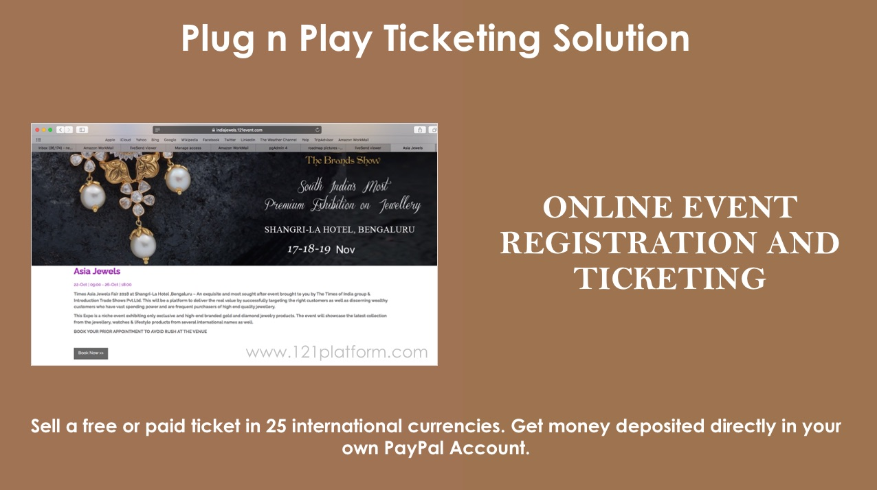 online event registration and ticketing solution